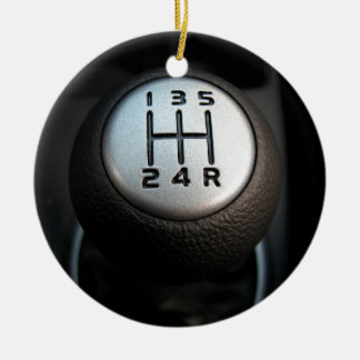 Stick Shift - Gear Box Christmas Ornament