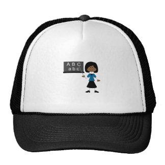 STICK TEACHER TRUCKER HATS