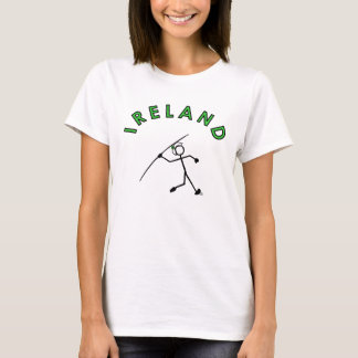 Stick With Sport Ireland Javelin Lady Green Band T-Shirt