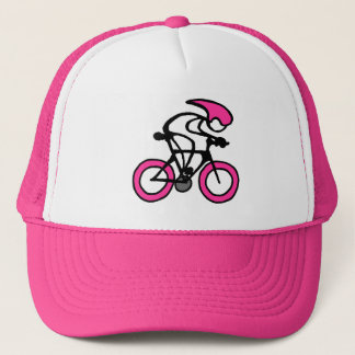 Stick With Sport Pink Racer Cap
