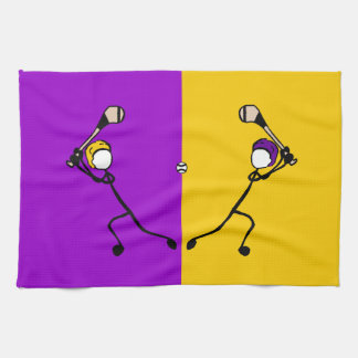 Stick With Sport Purple&Gold Wexford Hurling Towel