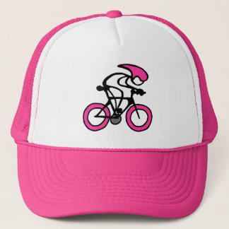 Stick With Sport Stickcycle Pink Trucker Hat
