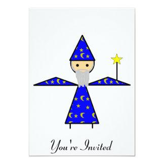Stick Wizard 13 Cm X 18 Cm Invitation Card