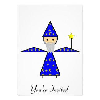 Stick Wizard Invitations