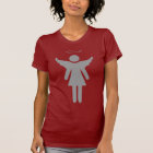 Stick Woman Angel T-Shirt