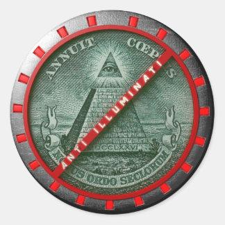 Sticker Anti Illuminati