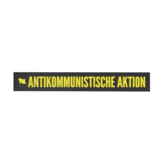 Sticker: Antikom (long) Wraparound Address Label