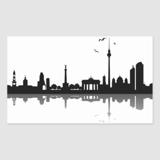 Sticker Berlin skyline