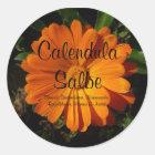 Sticker, Calendula/Ringelblumen ointment Classic Round Sticker