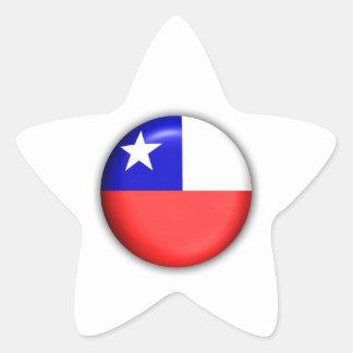 Sticker Chile Estrella 3