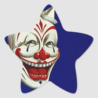 Sticker Clown Paint Makeup Fun Happy Expression