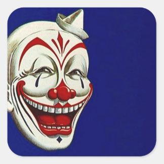 Sticker Clown Paint Makeup Fun Happy Expression