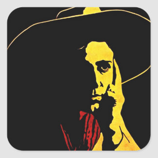 Sticker Cowboy After Dark Vaquero Vaqueros Night