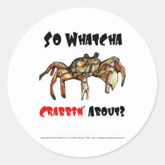 Sticker Crab No 2