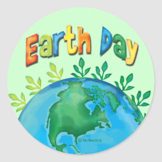 STICKER Earth Day