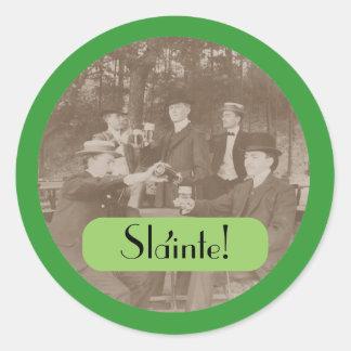 Sticker Envelope Seals St Patrick s Day Slainte