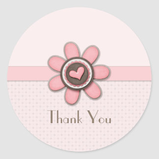 Sticker - Floral Button