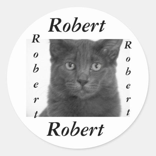 sticker for name  Robert