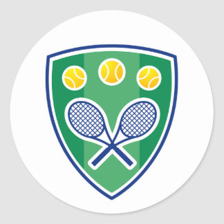 Sticker for tennis players