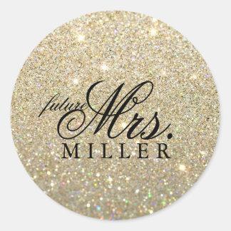 Sticker - Glitter Fab future Mrs.
