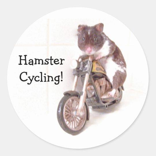 Sticker HamsterCycling!