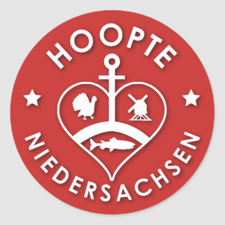 """Sticker """"Hoopte"""", approximately 7,6cm"""