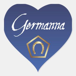 Sticker: I Love Germanna Heart Sticker