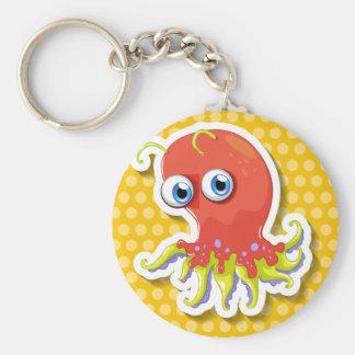 Sticker Key Ring