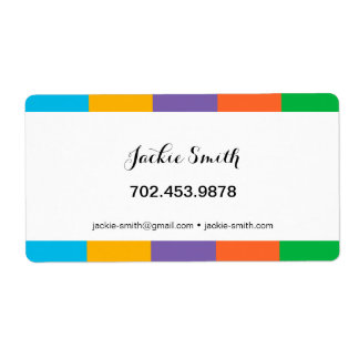 Sticker / Label Shipping Label