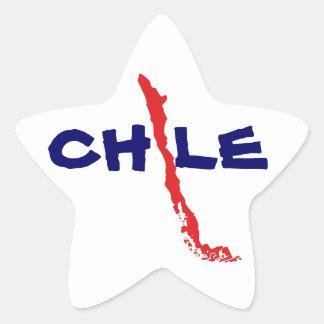 Sticker Mapa Chile 2