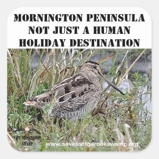 Sticker Mornington Peninsula not just a human dest