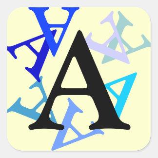 Sticker - Multiple letters
