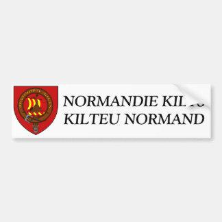 Sticker Normandy Kilts Car Bumper Sticker