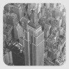 Sticker NYC Vintage Aerial Empire State Building
