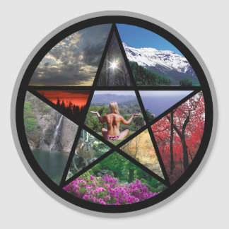 sticker Pentacle Collage