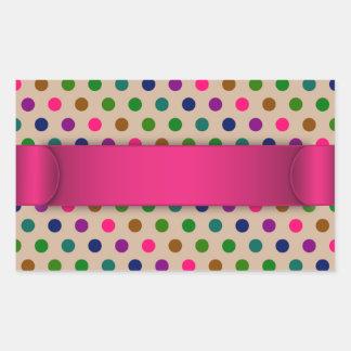 Sticker Polka Dots