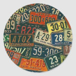 Sticker Road Trips Travel License Plates Plate