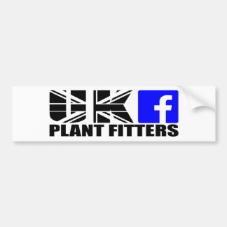 Sticker Shaded logo Bumper Sticker