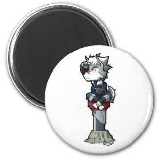 sticker siekfried chibbi 6 cm round magnet