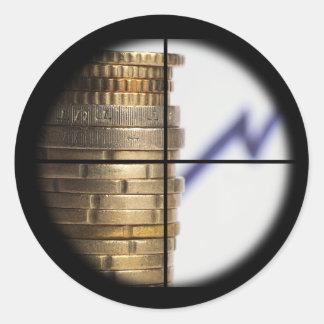 Sticker: Sniper Financial Growth Round Sticker