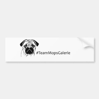 Sticker #TeamMopsGalerie