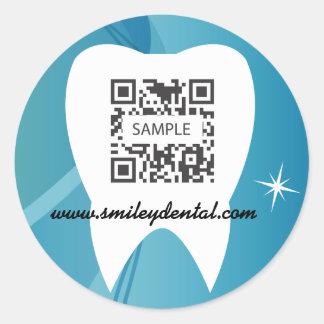 Sticker Template Dental Care