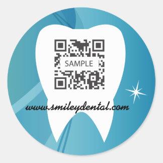 Sticker Template Dental Care-Test