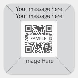 Sticker Template Gray 1