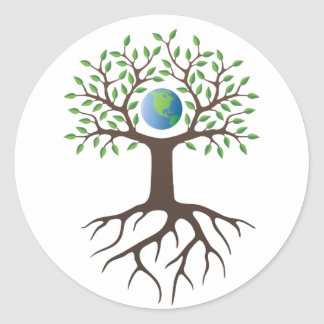 Sticker: Tree of Life Classic Round Sticker