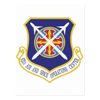 STICKER USAF 623rd Air and Space Operations Center Postcard