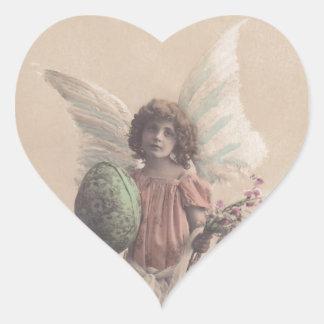 Sticker Vintage Antique Easter Angel Gifting Craft