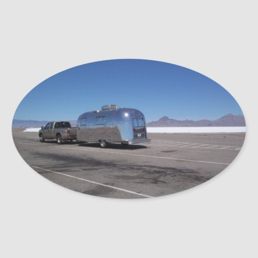 Sticker Vintage Tin Can Bonneville Salt Flats Utah