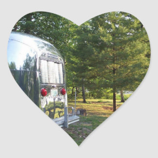 Sticker Vintage Tin Can Mirror Lake Pines Camper