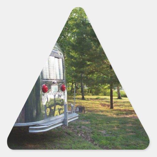 Sticker Vintage Tin Can Mirror Lake Pines Camper